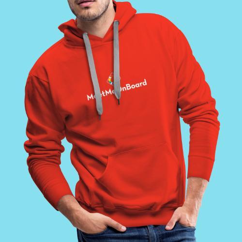 MMOB_logo_vert_whitetype - Men's Premium Hoodie