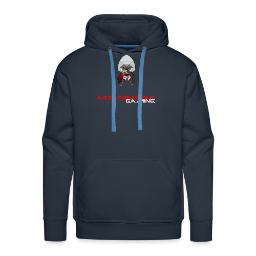 heather gray assassinwolf Tee - Men's Premium Hoodie