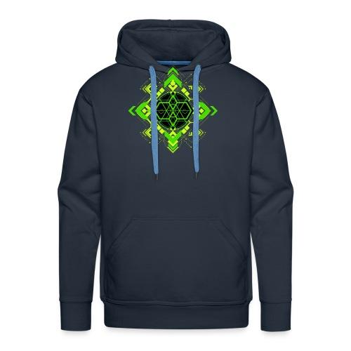 Design2_green - Men's Premium Hoodie