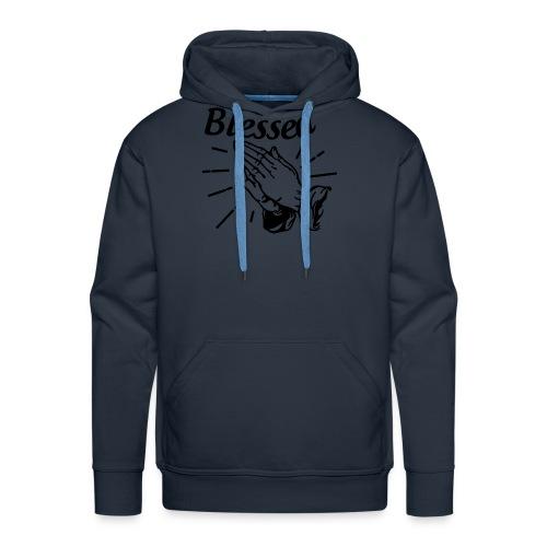 Blessed - Alt. Design (Black Letters) - Men's Premium Hoodie