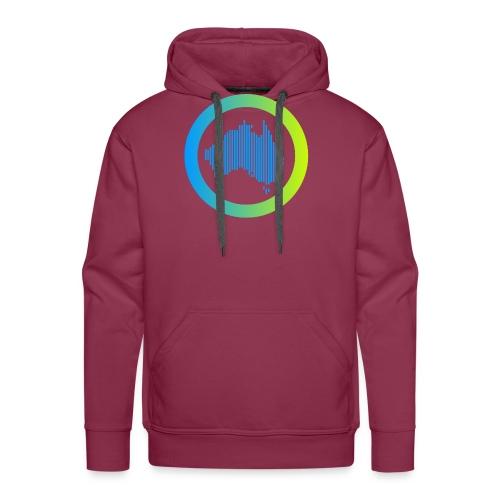 Gradient Symbol Only - Men's Premium Hoodie