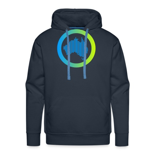 Gradient Symbol Only - Men's Premium Hoodie