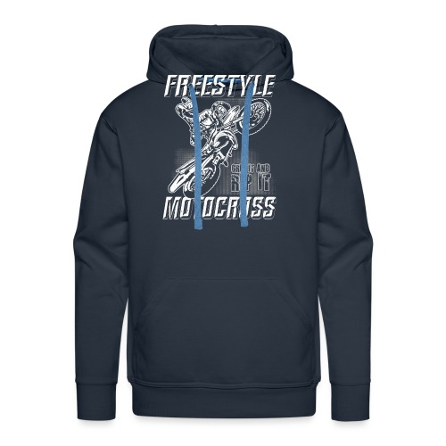 Freestyle Motocross Stunt - Men's Premium Hoodie