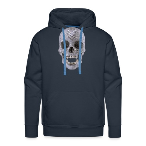 diamond_skull_1 - Men's Premium Hoodie