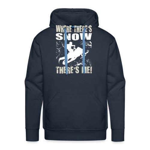 Snowmobile Snow Me - Men's Premium Hoodie