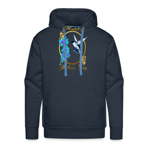 Mother's Day with humming birds - Men's Premium Hoodie