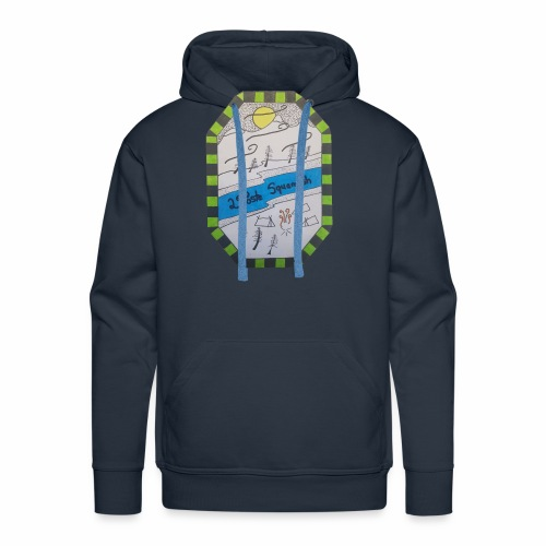 2nd position Squamish Hull - Men's Premium Hoodie
