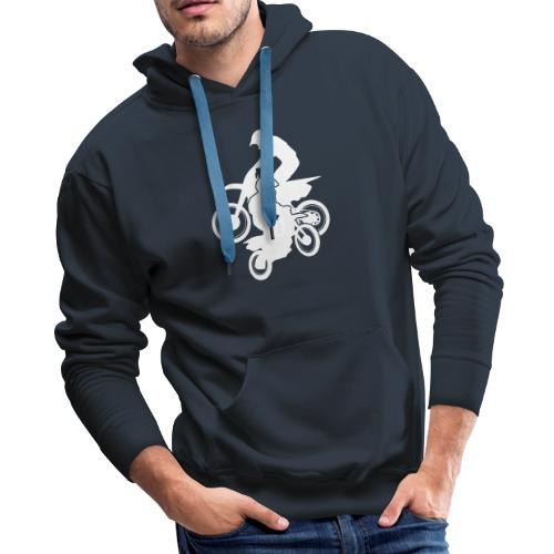 Motocross Dirt Bikes Off-road Motorcycle Racing - Men's Premium Hoodie