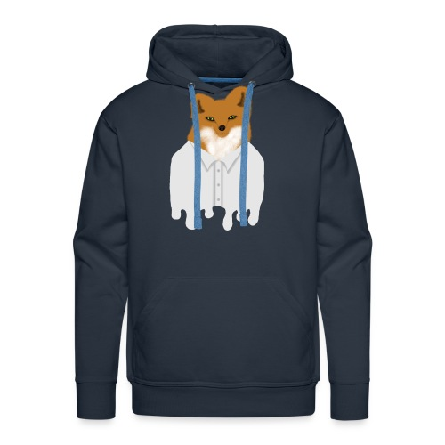 Fancy Fox - Men's Premium Hoodie