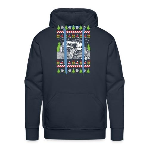Ugly Christmas Wrangler - Men's Premium Hoodie