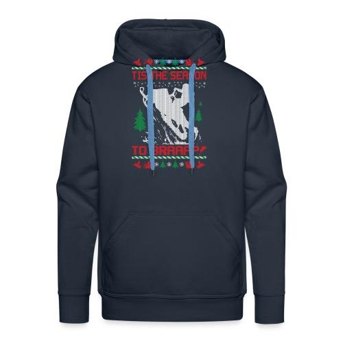 Snowmobile Christmas Ride - Men's Premium Hoodie