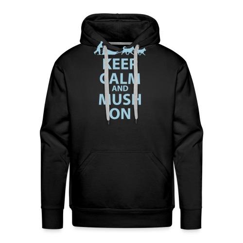 Keep Calm & MUSH On - Men's Premium Hoodie