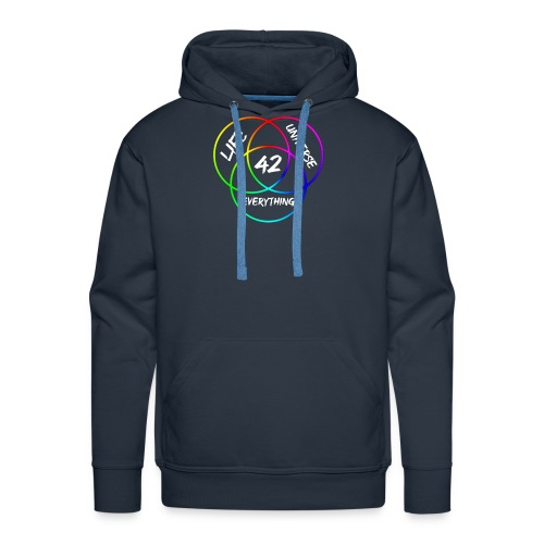 42 The Answer to Life merch - Men's Premium Hoodie