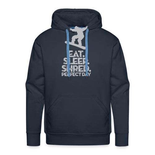 Snowboarder Shred - Men's Premium Hoodie