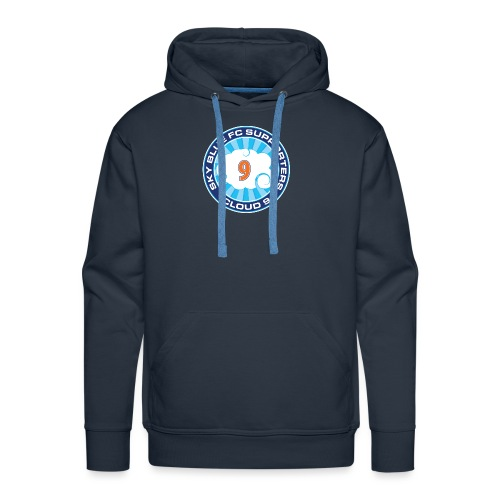 Cloud 9 Badge - Men's Premium Hoodie