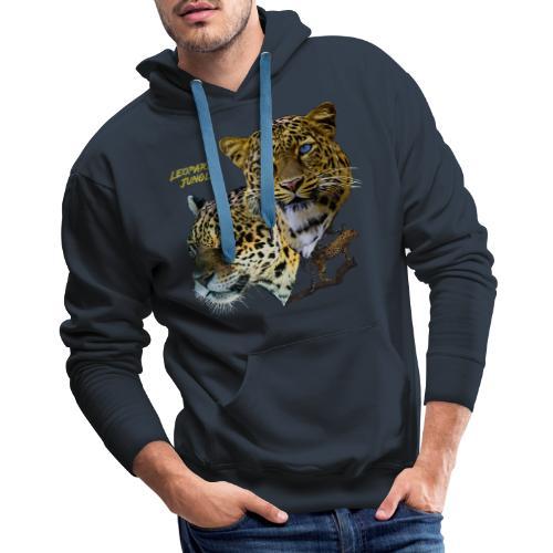 leopards jungle - Men's Premium Hoodie