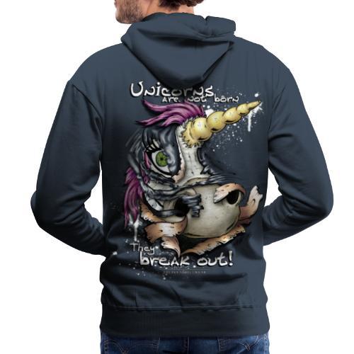 unicorn breakout - Men's Premium Hoodie