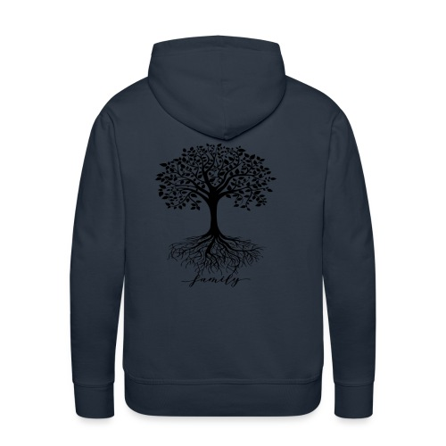 Family rooted tree - Men's Premium Hoodie