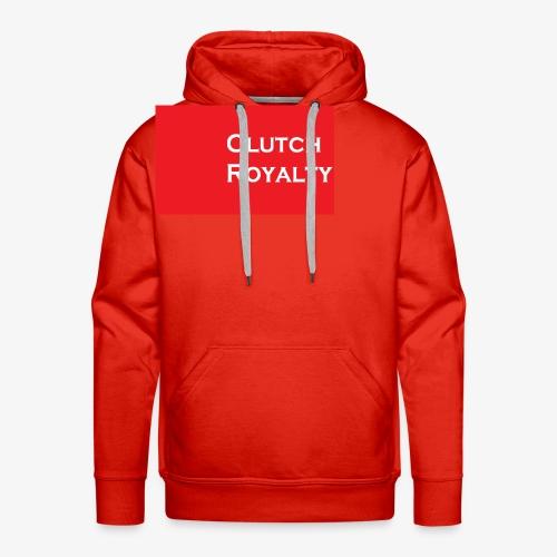 Clutch Royalty text - Men's Premium Hoodie