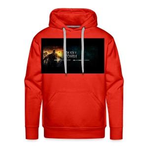 Deadly_Zombies_-1- - Men's Premium Hoodie