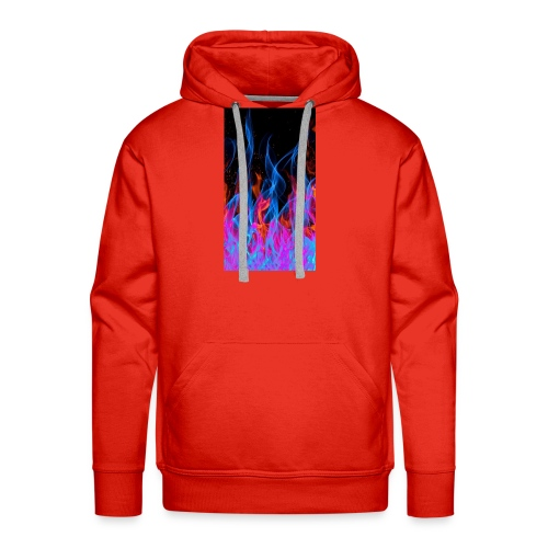 The flame. - Men's Premium Hoodie