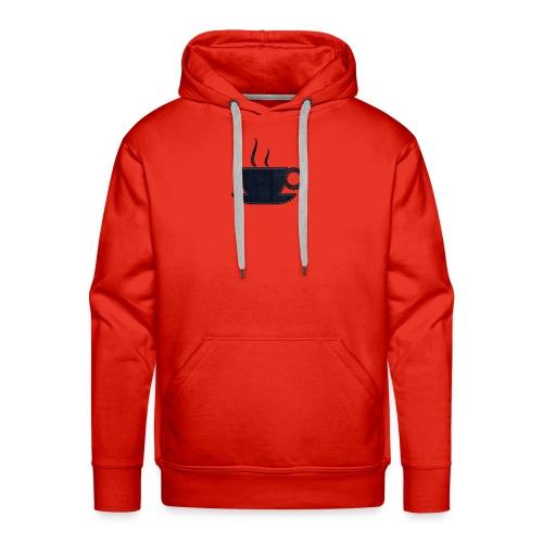 Tea Cup Design - Men's Premium Hoodie