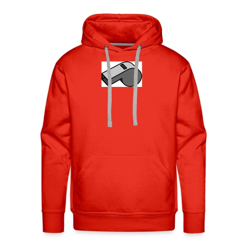 shut up whistle! - Men's Premium Hoodie