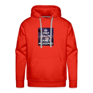 keep calm my name is mohamed 4 - Men's Premium Hoodie
