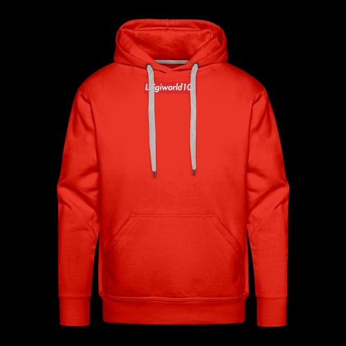 Lw1 box logo - Men's Premium Hoodie
