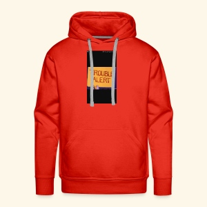 Trouble alert from troublemakers cool merches lean - Men's Premium Hoodie