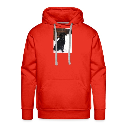 dog2 - Men's Premium Hoodie