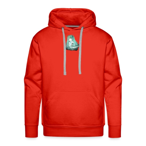 Summrrz Logo Transparent - Men's Premium Hoodie