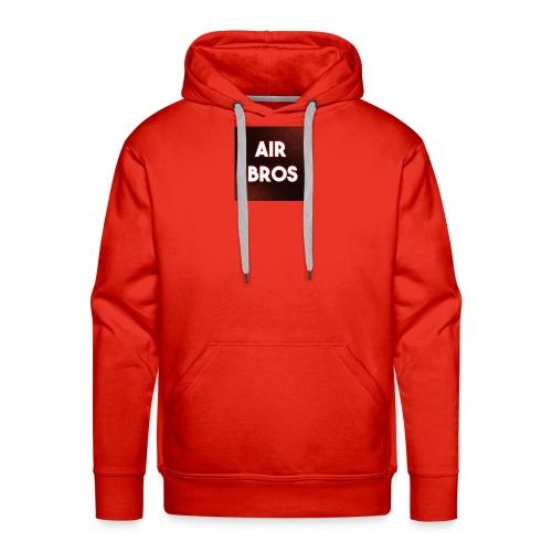 Black merch AIR BROS - Men's Premium Hoodie