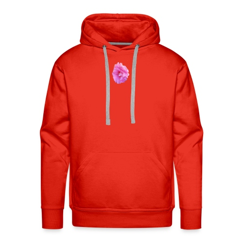 Shiny pink flower - Men's Premium Hoodie