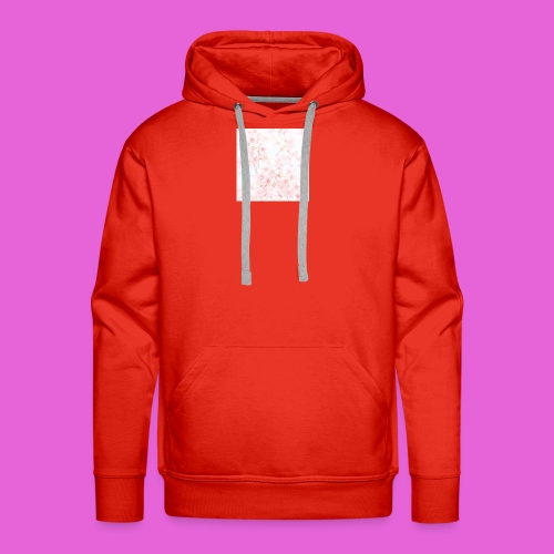 cute flower design - Men's Premium Hoodie
