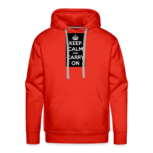 KEEP CALM AND SUB TO DIAMOND - Men's Premium Hoodie