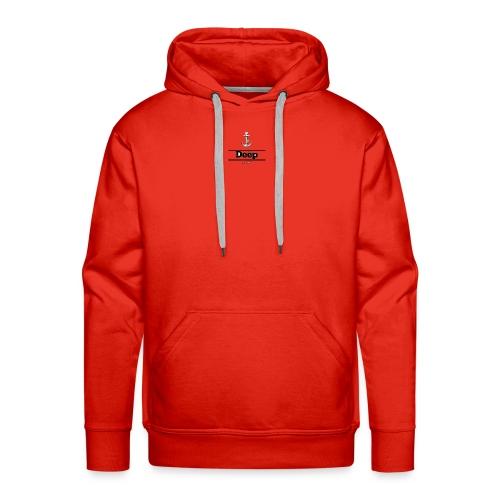 Line deep logo - Men's Premium Hoodie