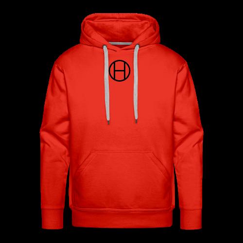 logo premium tee - Men's Premium Hoodie