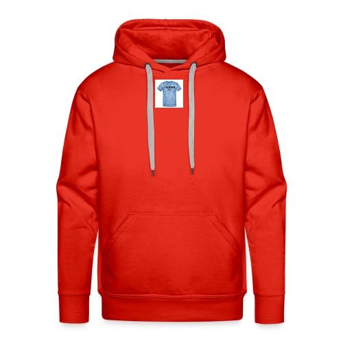 tie_dye_t-shirt - Men's Premium Hoodie