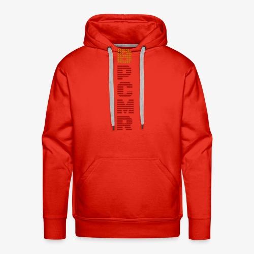 Vertical BPCMR Binary Logo - Men's Premium Hoodie