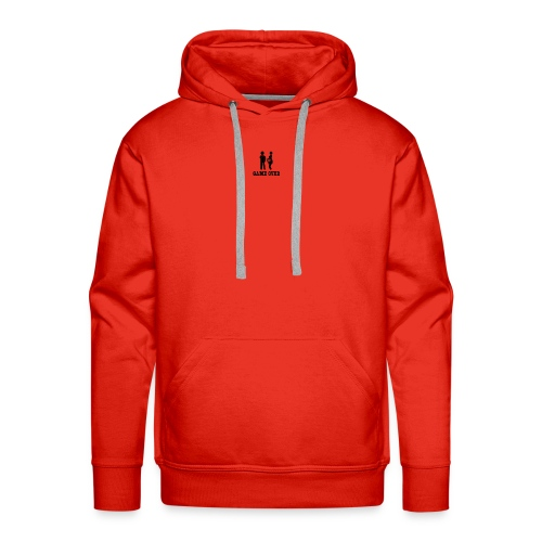couple game over - Men's Premium Hoodie