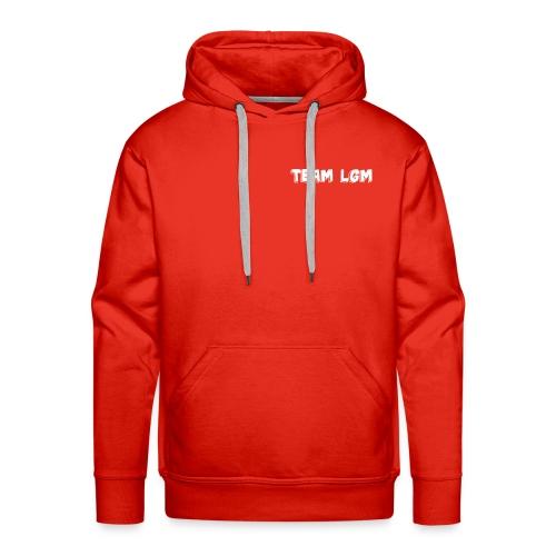 TEAM LGM white - Men's Premium Hoodie