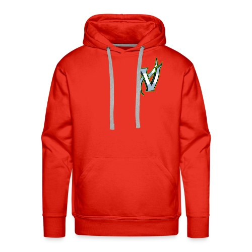 Vix V Symbol Altered - Men's Premium Hoodie