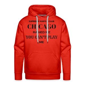Chicago Rasied me - Men's Premium Hoodie