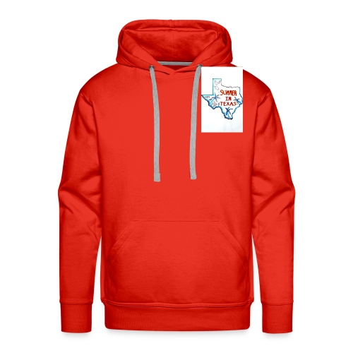 Summer in Texas - Men's Premium Hoodie