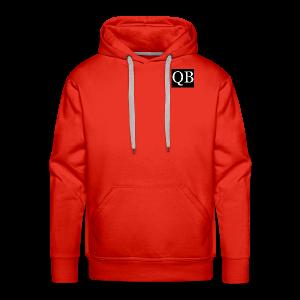 Quality Brand - Chest Logo - Men's Premium Hoodie