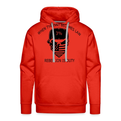 rebellion time - Men's Premium Hoodie