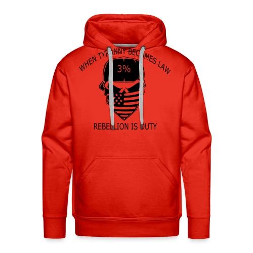 rebellion time - Men's Premium Hoodie