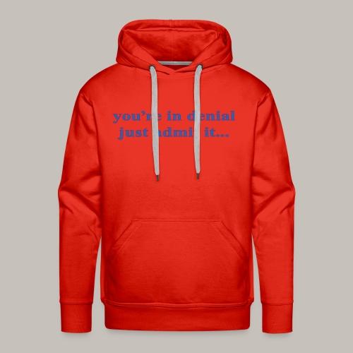 denial - Men's Premium Hoodie