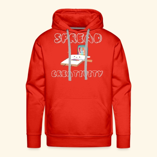 Spreading Creativity - Men's Premium Hoodie